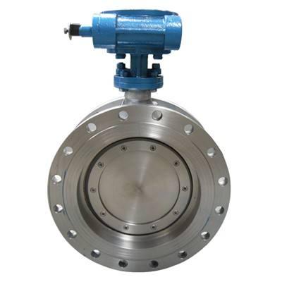 Triple eccentric metal sealing butterfly valves ,tri -offset