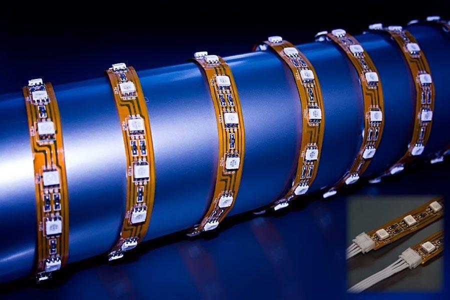 5050 SMD LED Strip (Flexible RGB Waterproof 01-Sfs-100cm-30)