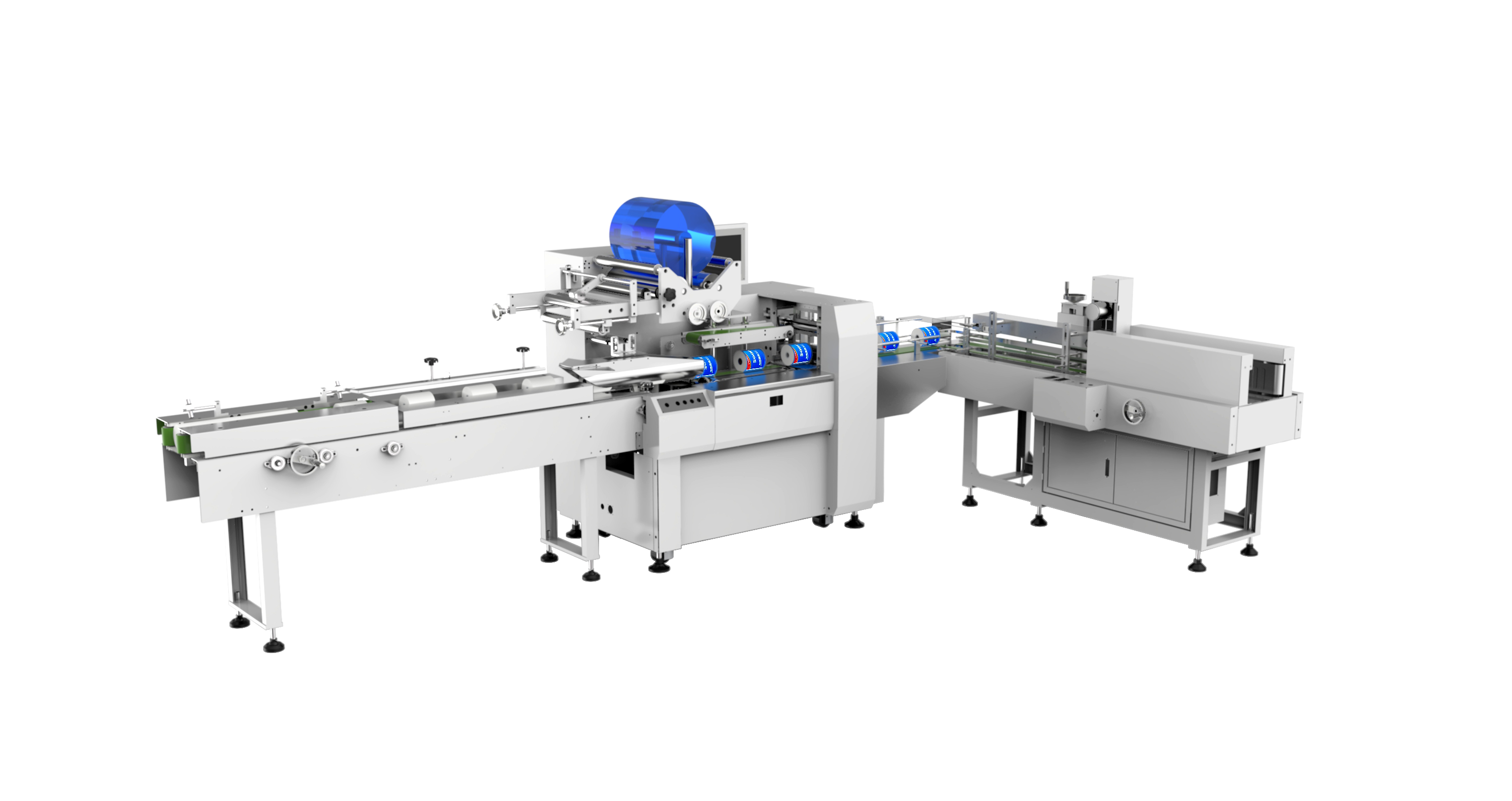 ZB520A roll paper packing machine