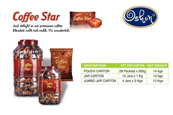 Coffee Star Candy