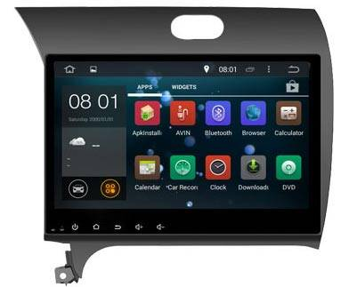 Android dvd radio for KIA K3 CERATO with 3g bluetooth gps wifi