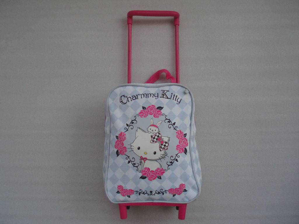 Hello kitty child trolley luggage bags wholesale YF3934