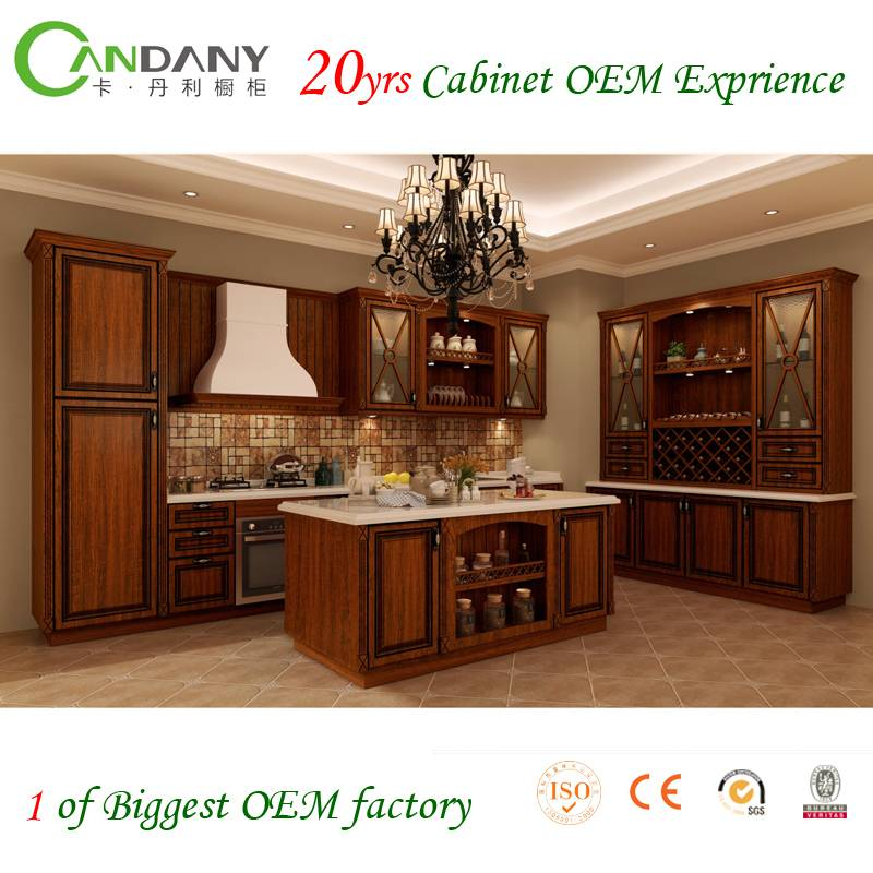 20 Yrs in OEM/ODM Chinese/Antique Style Whole House Customized Kitchen Cabinet