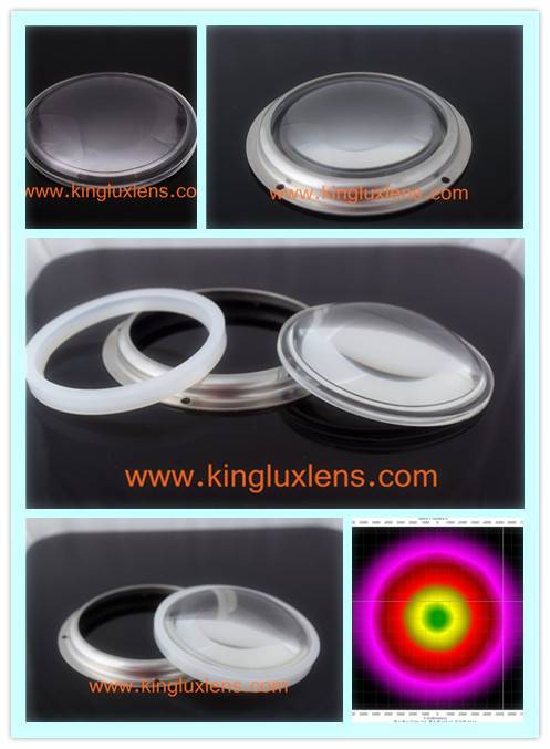 led lenses 100mm  for 100 degree led  flood lights