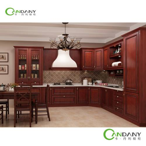 20 Yrs in OEM/ODM Candany PVC Membrane Kitchen Cabinet Hot Sale Products