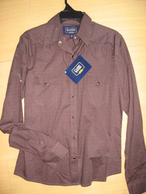 canvas shirt with patch pocket garment