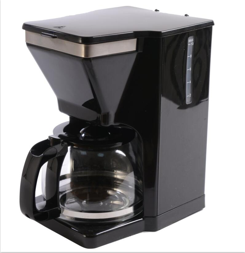 ERP2 auto shut off drip coffee maker with overheat protection