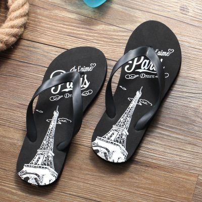 wholesale black flip flops
