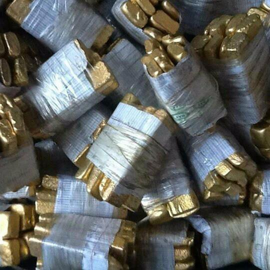 Pure Gold Dore Bars for sale..22 carats