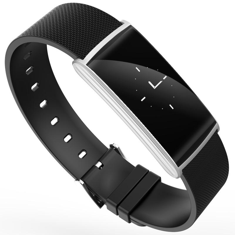 Bluetooth Bracelet Blood Pressure Heart Rate Blood Oxygen Monitor Wristband Self-portrait