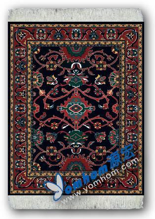 oriental persian carpet mouse pad