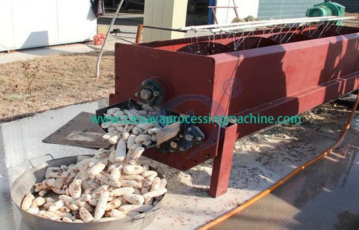 Complete garri processing plant