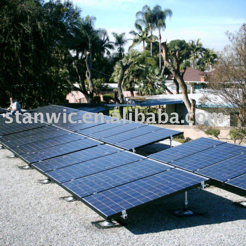open ground solar mounting