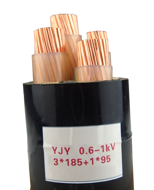 YJY 0.6-1KV 3X185+1X95 Low voltage cable