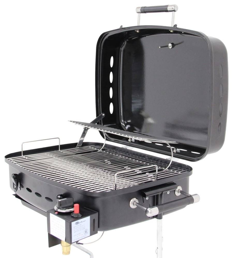 Portable gas BBQ grill