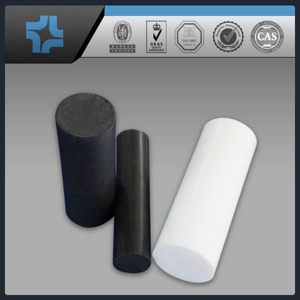 black teflon PTFE rod/stick/bar