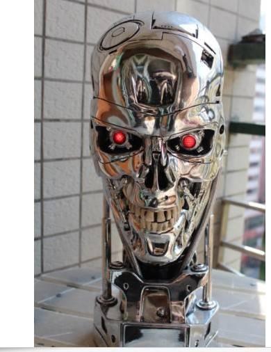 Terminator T800 Skull Endoskeleton Lift-Size Bust Figure Replica