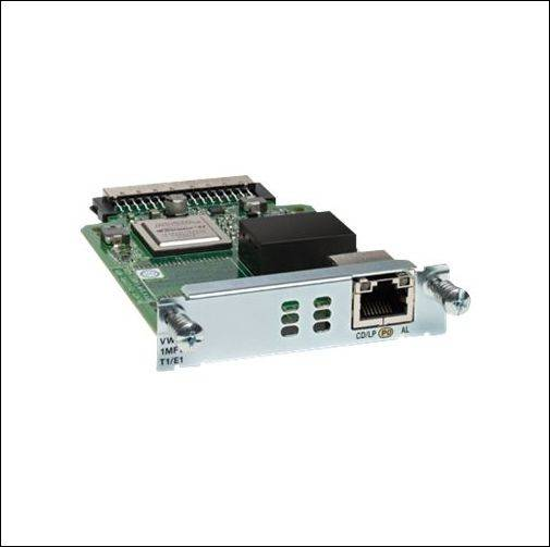 VWIC3-2MFT-T1/E1 cisco card