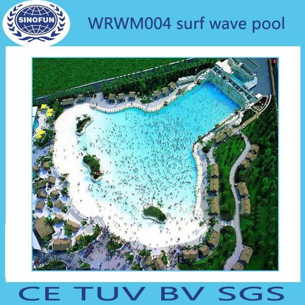 [Sinofun Rides] Vacuum surf wave pool water park rides
