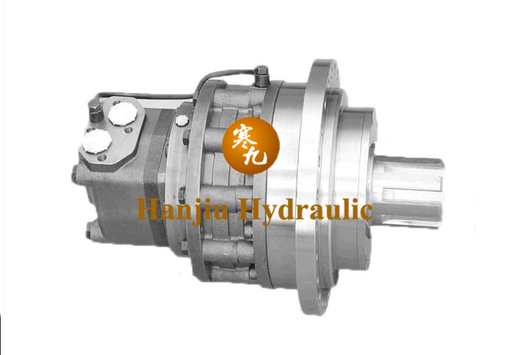 Hydraulic Motor with Decelerator