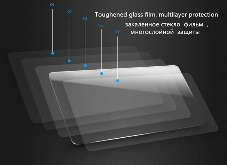 Tempered Glass membrane For Xiaomi redmi Note 4 Phone Screen Protection