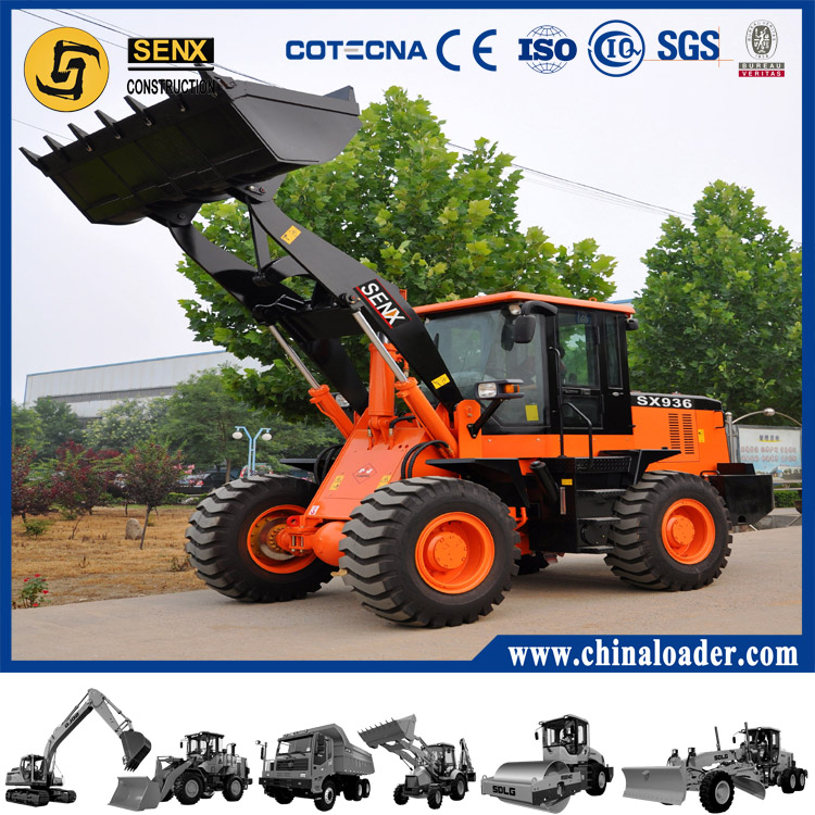 China cheap wheel loader 3T loader SX936 for sale