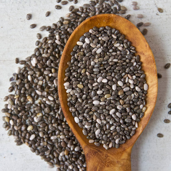 Chia Seeds, Flaxseed, Hemp Seeds, Poppy Seed