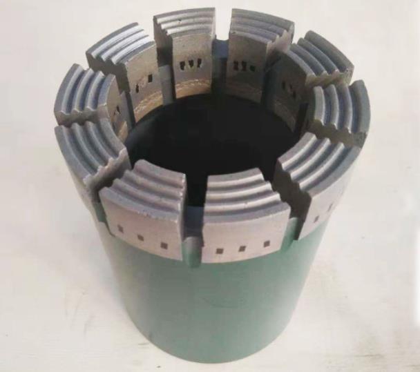 BQ, NQ, HQ, PQ Geological Diamond Core Drill Bits Impregnated Diamond Core Bit