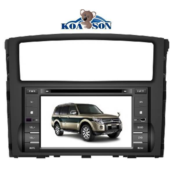 Mitsubishi Pajero CAR DVD GPS Playerwith with 6.2-Inch Touch Screen/Canbus/DTV(optional)/Radio(RDS)/