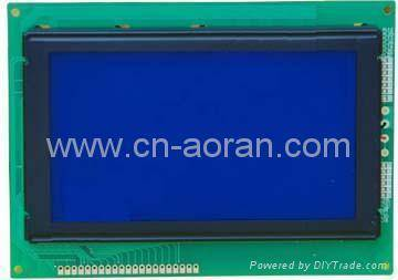 STN blue 240x128 Graphic LCD Module with led backlight