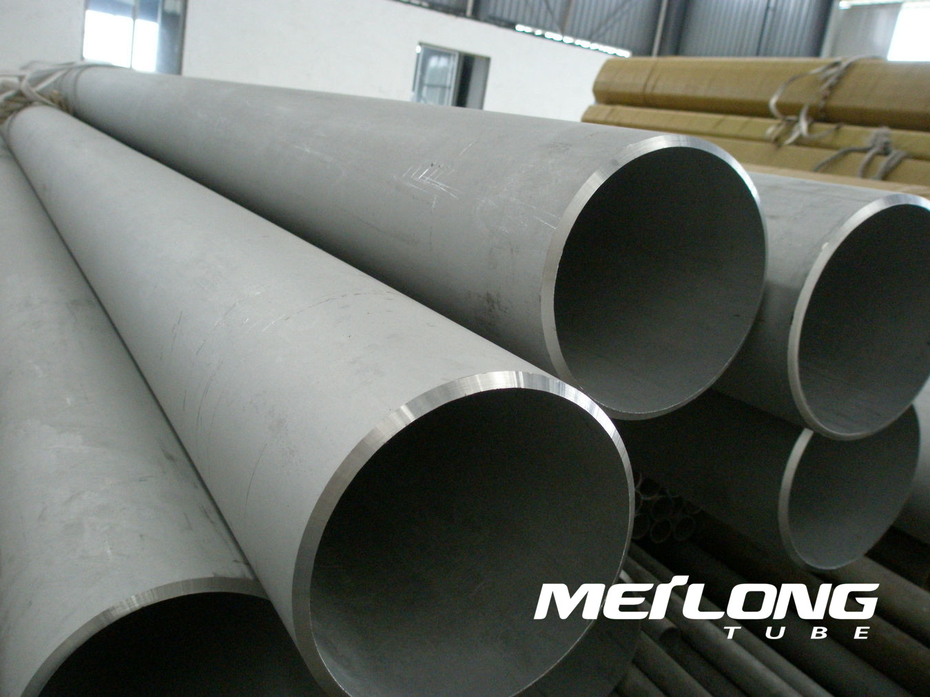 ASTM A704 S32750 super duplex stainless steel pipe