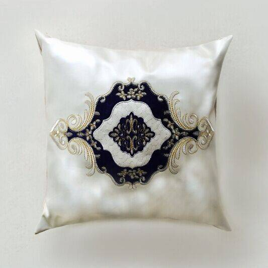 pvc leather cushion cover