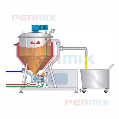 Batch Emulsifying System for Mayonnaise