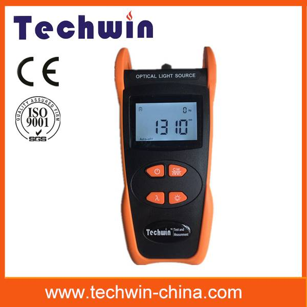 TW3109E FP-LD, LED handheld optical fiber light source