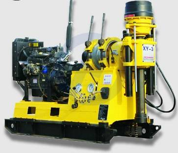 High Efficiency Multi-purpose XY-3 Rock Drilling Rig