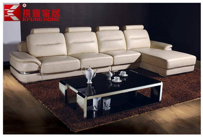 sofa for living room genuine leather modernstyle SF-170