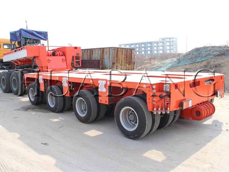 Goldhofer hydraulic axles semi-trailers   Goldhofer semi trailers   hydraulic modular trailers   Hea