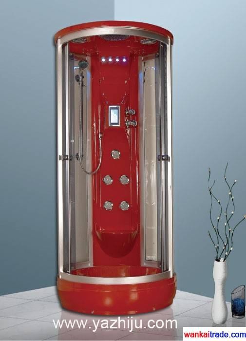 D6 steam engine system shower room with big top sprinkler