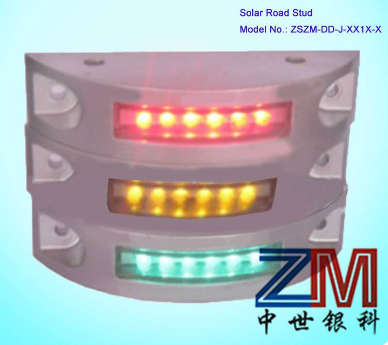 Embedded Solar LED Road Stud