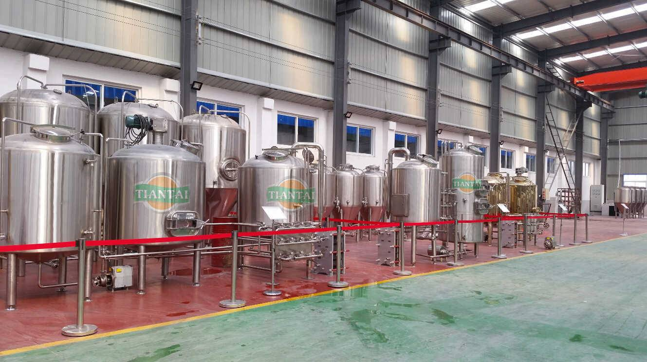 2500L beer brewing equipment for craft beer