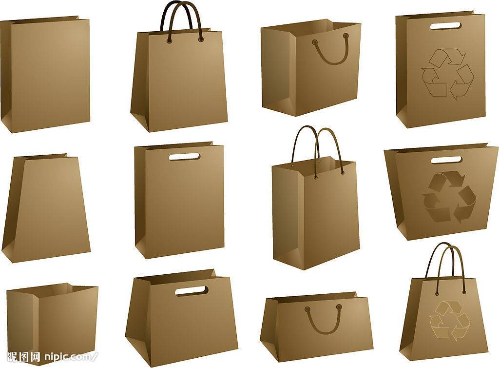 2013 promotional craft paper shopping bag