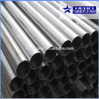 High Quality Cold Rolled Steel Round Pipe from China
