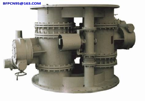 Pressure regulating valve unit