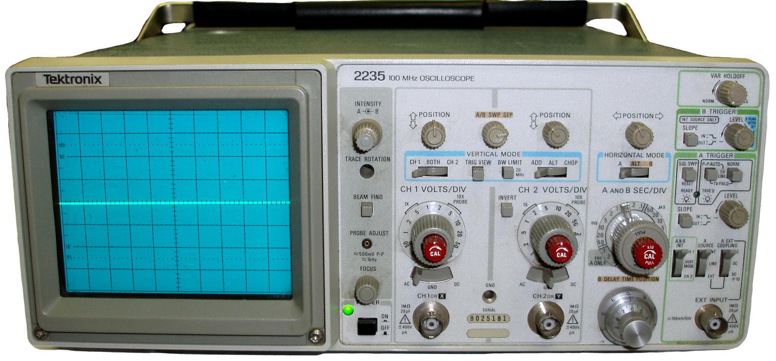 Tektronix 2235A TDS320 2335 2337 2445 2215A 2465B