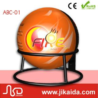 abc fire types dry power fire extinguisher ball
