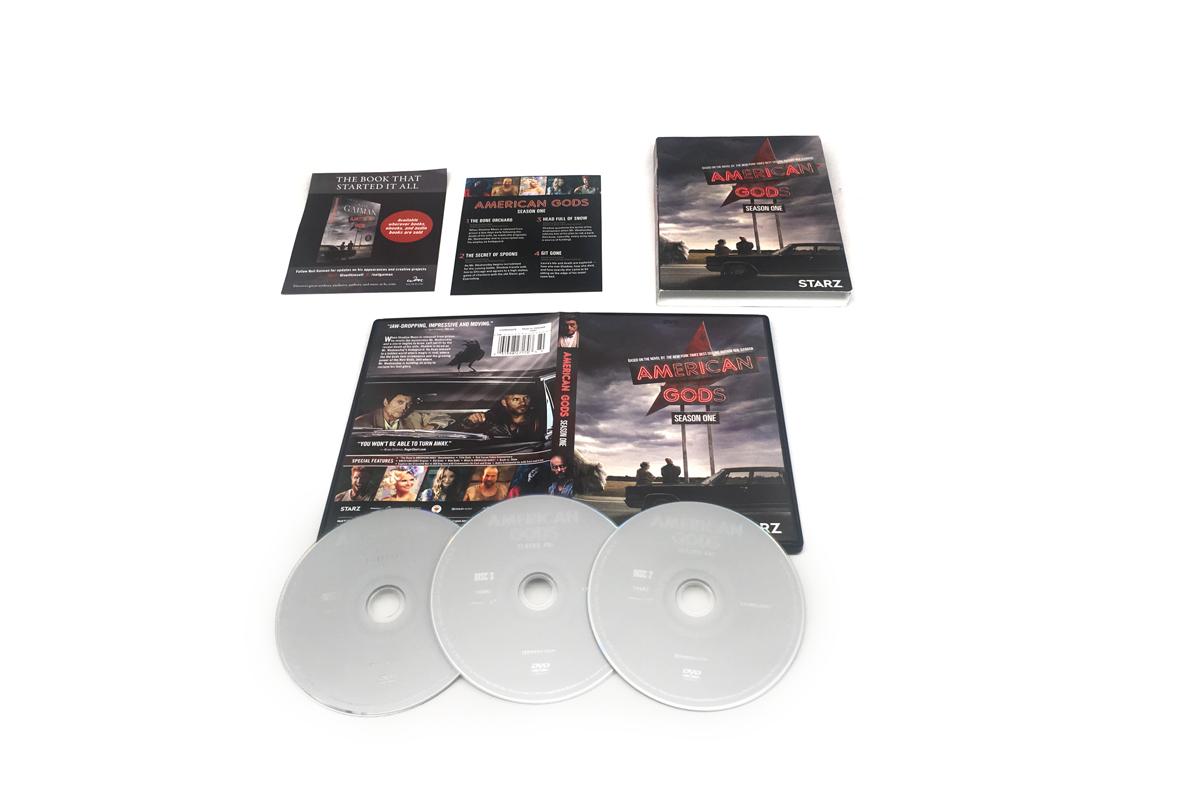 American Gods 1 season dvd boxsets