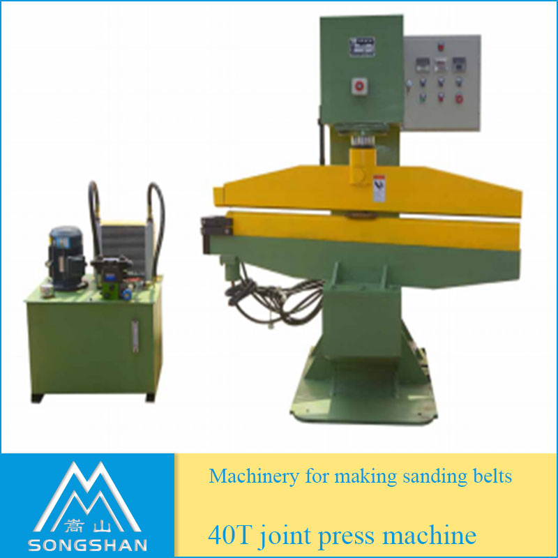 Hydraulic Press Machine for Abrasive Sanding Belt Joint Making