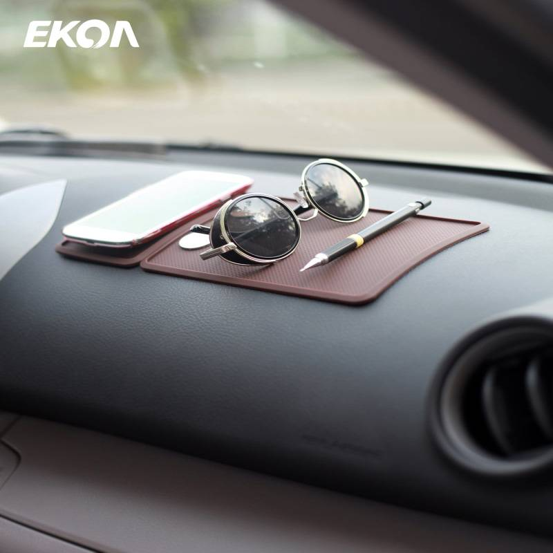 EKOA SJ-107 Silicone car anti slip pad Dash Dashboard Mat Phone Holder Styling Accessories
