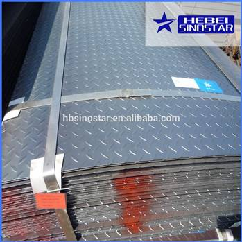 Hot Rolled Chequered Steel Sheets/Plates with Best Price in China