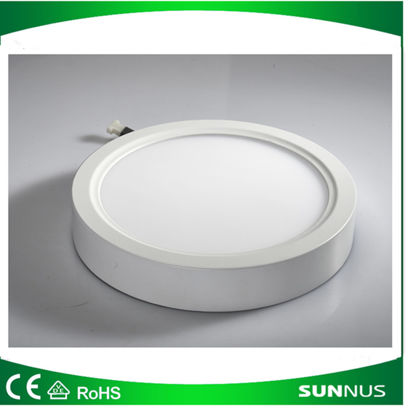 6W Surface Mounted LED Panel Light Circular Round Ceiling Downlight Wall Lamp